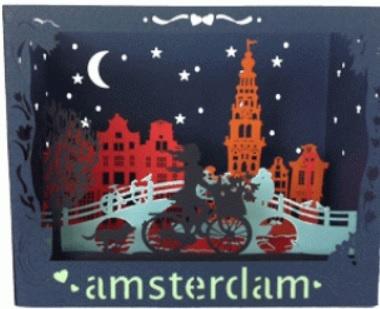 3D Kaart Amsterdam