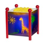 Draailamp Trousselier Jungle (rood)