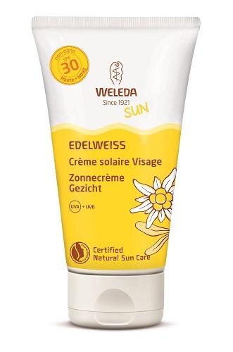 Weleda Edelweiss Zonnecreme gezicht 50 ml