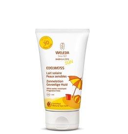 Weleda Edelweiss Zonnelotion gevoelige huid 150 ml