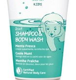 Weleda Kids 2in1 Shower & Shampoo Coole Munt 150 ml