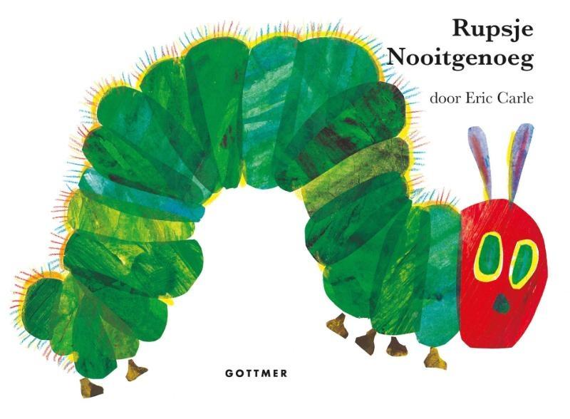 Eric Carle, Rupsje Nooitgenoeg (gebonden kartonboek)