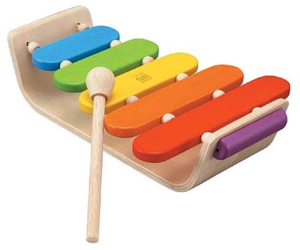 Plan Toys Houten 'Oval Xylofoon' PT 6405