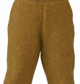 Engel Natur Engel Natur Baby Broek met tailleband Wol Fleece - Safraan melange (018E)