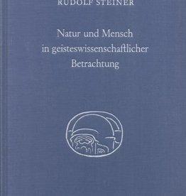 Rudolf Steiner, GA 352 Natur und Mensch in geisteswissenschaftlicher Betrachtung