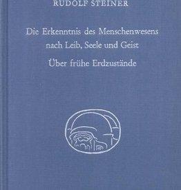 Rudolf Steiner, GA 347 Die Erkenntnis des Menschenwesens nach Leib, Seele und Geist. Über frühe Erdzustände
