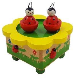 Muziekdoos Dansende Lieveheersbeest