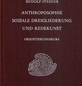 Rudolf Steiner, GA 339 Anthroposophie, soziale Dreigliederung und Redekunst