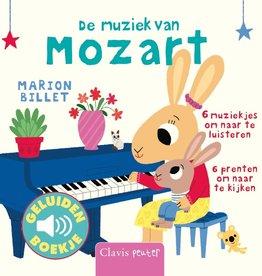 Marion Billet, De muziek van Mozart (geluidenboekje)