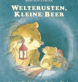 Martin Waddell, Welterusten kleine beer. Mini pop-up boek