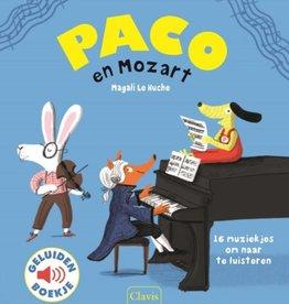Magali le Huche, Paco en Mozart (geluidenboek)