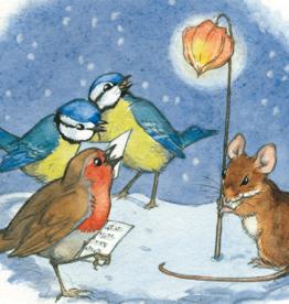 Molly Brett, Robin and Blue Tits Sing Carols PCE 093