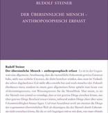 Rudolf Steiner, GA 231 Der übersinnliche Mensch, anthroposophisch erfasst