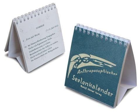 Rudolf Steiner, Anthroposophischer Seelenkalender als Tisch-Kalender