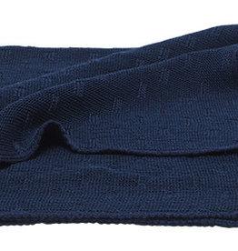 Reiff Reiff Omslagdoek Sissi Wol/zijde 80x90cm Reiff - Marine