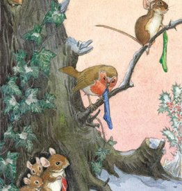 Molly Brett, Hopeful Christmas eve for Woodland animals PCE 201
