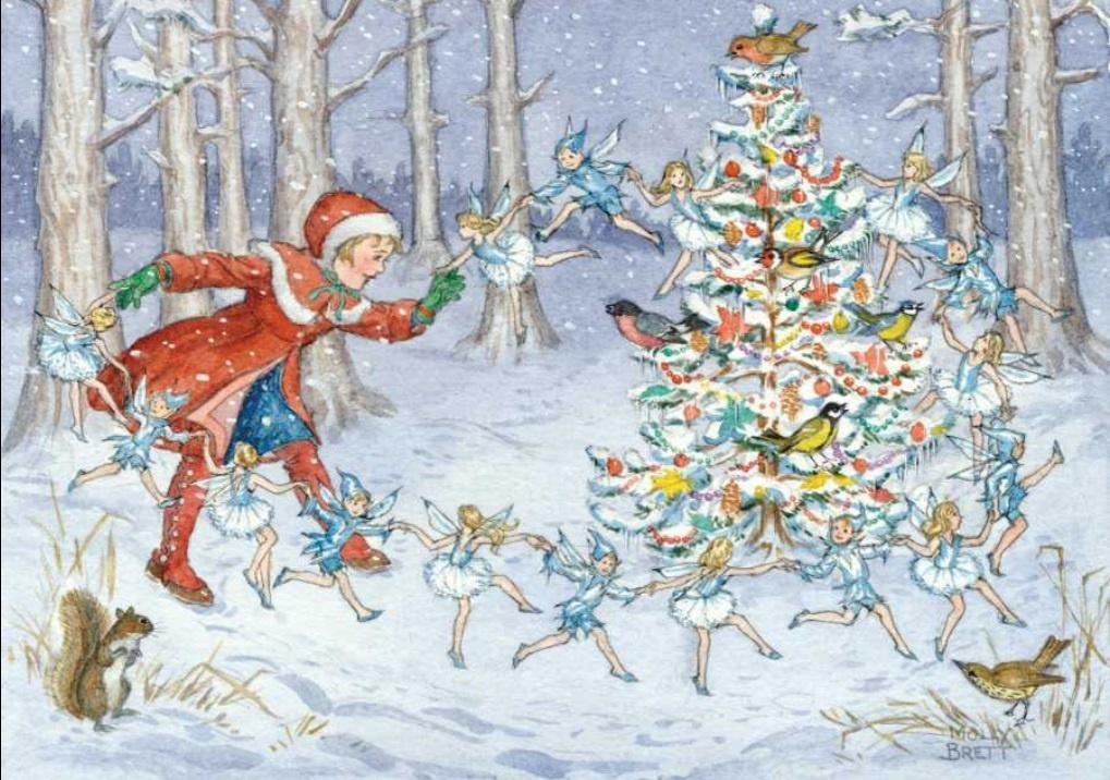 Molly Brett, The Snow Fairies PCE 188