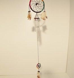 Windgong en Dreamcatcher multicolor 75 cm