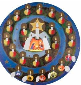 Adventkalender Adventstuintje (Dzubiella)