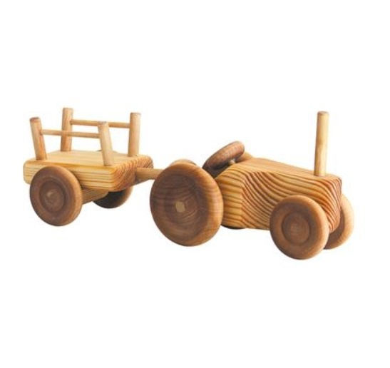 Debresk Debresk Kleine Tractor met aanhanger