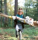 Disana Disana wollen legging - Plum (693)