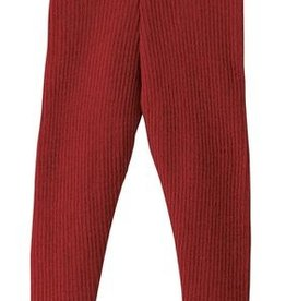 Disana Disana wollen legging - Bordeaux (398)
