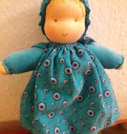 Kleine Knuffel Noortje 2 (blauw)