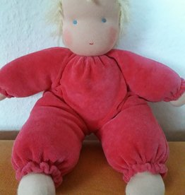 Knuffelpop Dineke (roze)