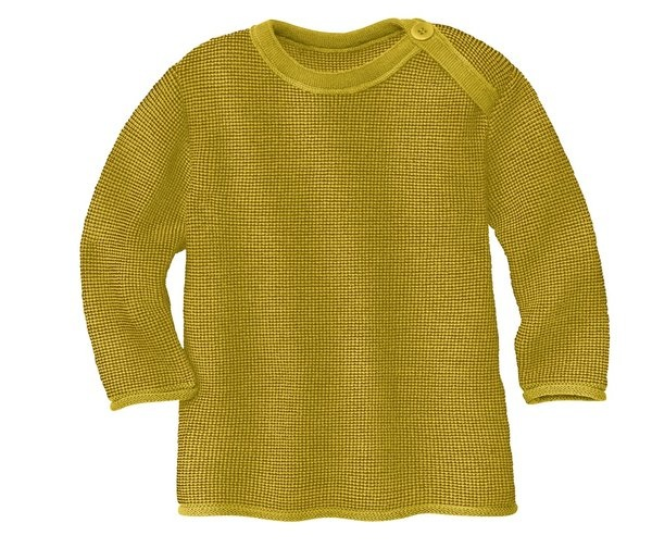 Disana Disana merino wollen trui - Curry/Gold (978)