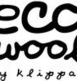 Klippan Klippan Ledikantdeken Velvet  eco wol - Zachtblauw/groen (03)