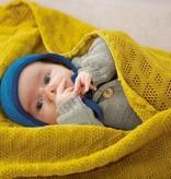 Disana Disana Wollen Omslagdoek en Babydeken - Naturel (111)