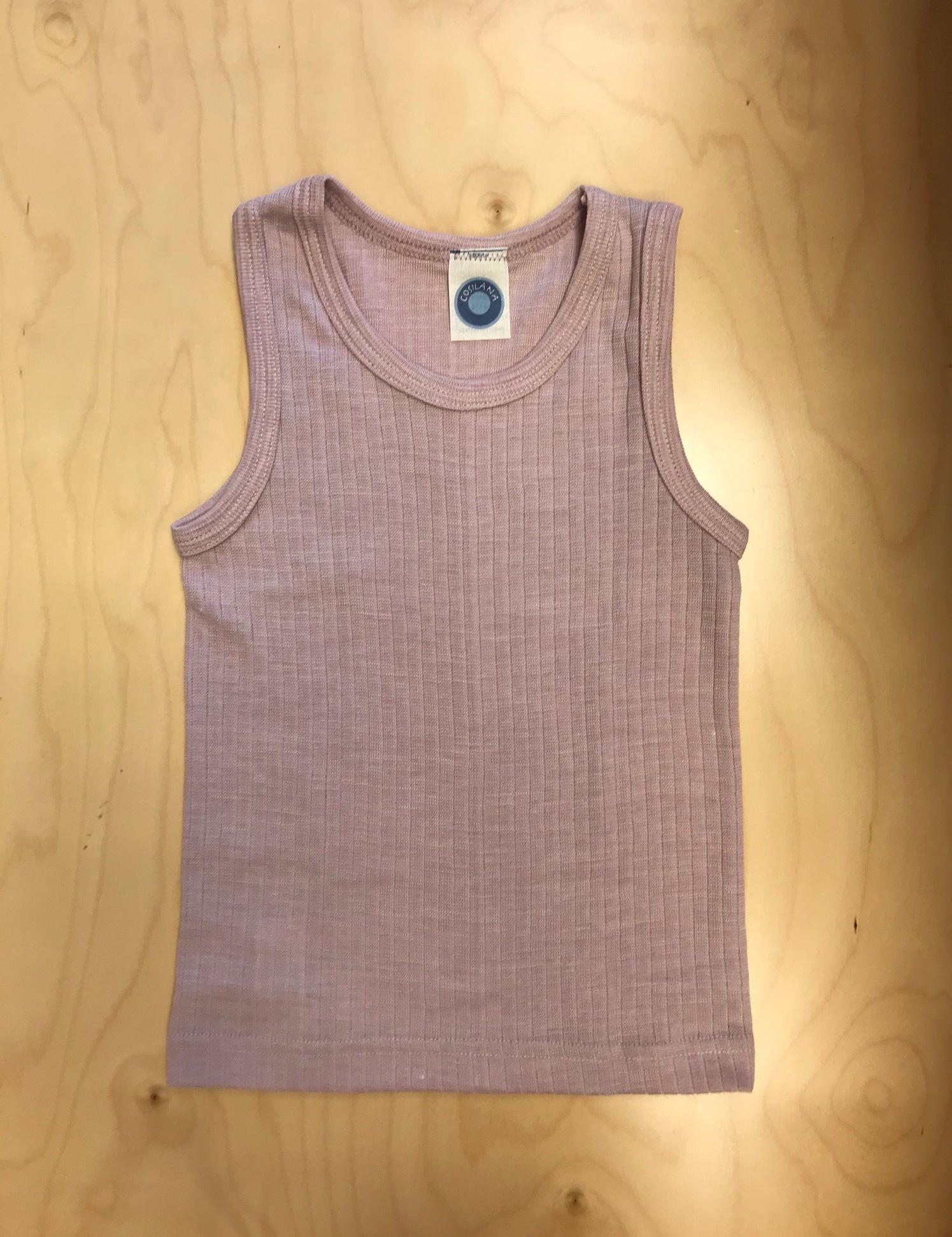 Cosilana Cosilana Wol/Zijde/Katoen hemd - Roze (62)