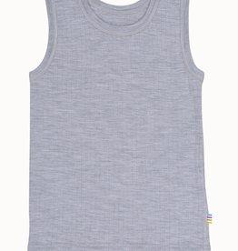JOHA Joha kinderhemd 100% Wol - Grijs (15110)