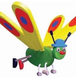 Van Dijk Toys Vliegfiguur Vlinder