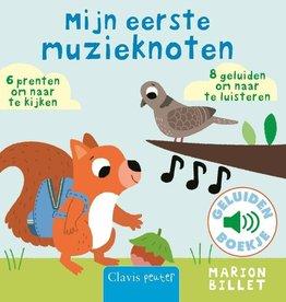 Marion Billet, Mijn eerste muzieknoten (geluidenboekje)