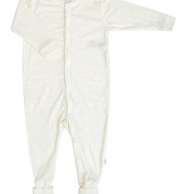 JOHA Joha Pyjama Wol met voet omslag - Ecru (50)