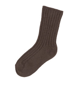 Joha Joha Wollen sokken - Donkerbruin (15115)