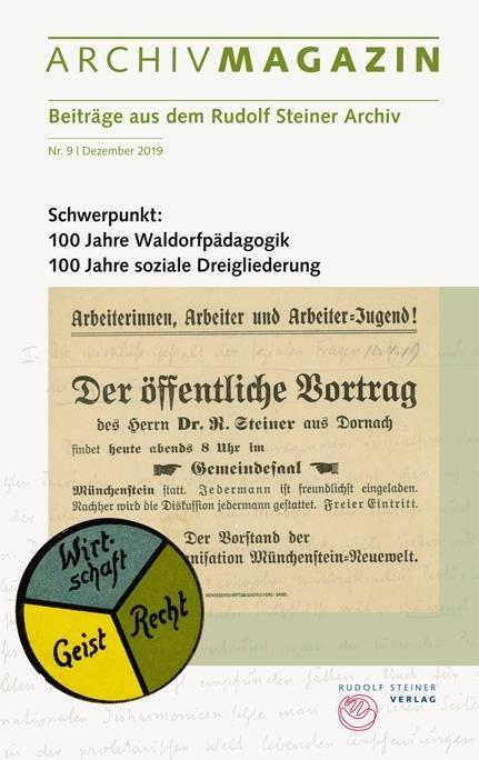 ArchivMagazin Nr. 9 Dezember 2019