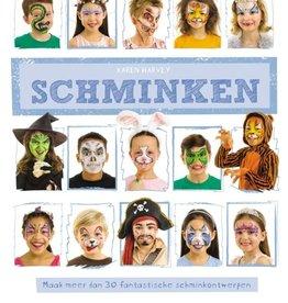 Karen Harvey, Schminken. maak meer dan 30 fantastische schminkontwerpen