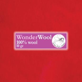 De witte engel De Witte Engel Wonderwol - 10 gram - Rood 1600