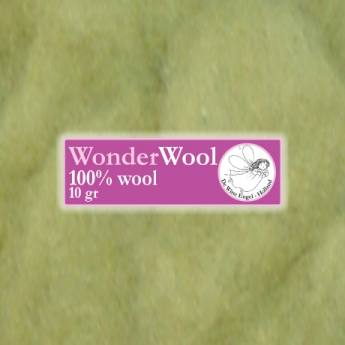 De witte engel De Witte Engel Wonderwol - 10 gram - Geelgroen 2400
