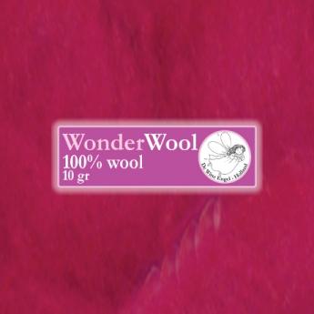 De witte engel De Witte Engel Wonderwol - 10 gram - Rozerood 1200