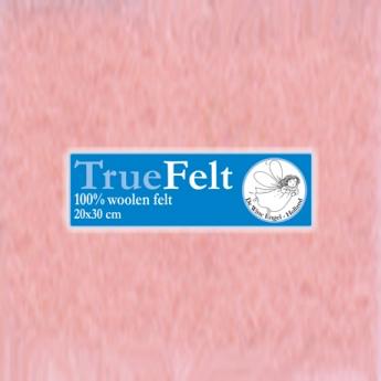 De Witte Engel De Witte Engel - Vilt 1,2 mm - Roze V525