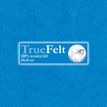 De Witte Engel De Witte Engel - Vilt 1,2 mm - Turquoise V551