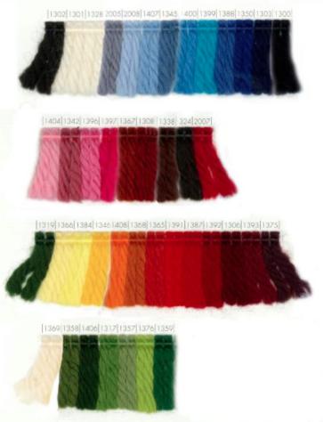 Scheepjeswol Scheepjeswol Soedan - Donkerblauw 1303 in alle kleuren van de regenboog
