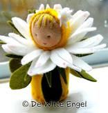 De Witte Engel De Witte Engel - Madeliefje Tafelpopje A540
