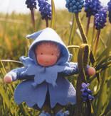 De Witte Engel De Witte Engel - Blauw Druifje Bloemenkindje A409