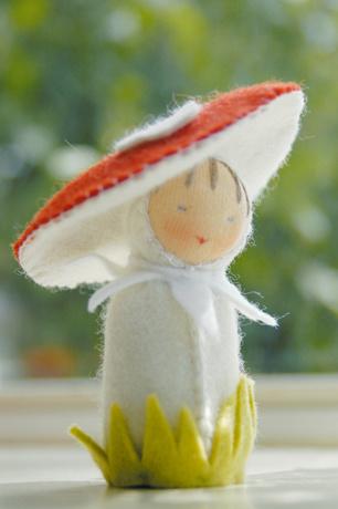De Witte Engel De Witte Engel - Paddestoel Tafelpopje A541