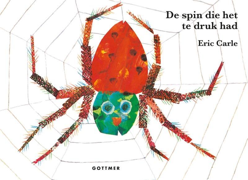 Eric Carle, De spin die het te druk had