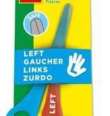 SES Linkshandige schaar metaal/kunststof